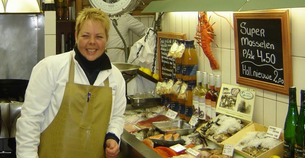 Amsterdamche vische handel