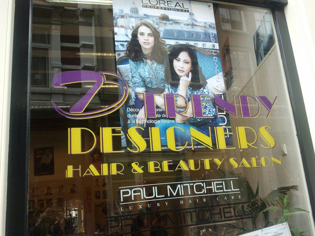 trendy designers hair salon kapper amsterdam centrum